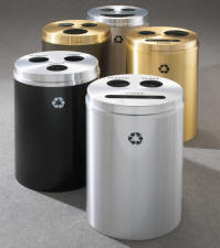 RecyclePro3 Triple Purpose Recycling Receptacles
