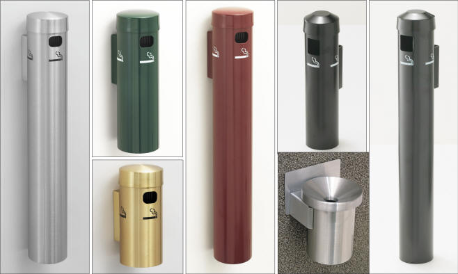 smoking receptacles cigarette receptacles