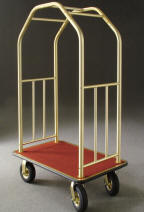 Deluxe Bellman Carts / Luggage Carts