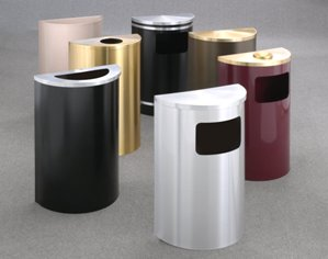 Half Round Receptacles Group