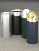 Glaro Value / Economy Waste Receptacles Powder Coat Group