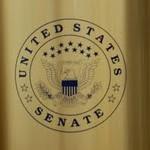 Custom Silk Screened Receptacles for The U.S. Senate by Glaro Inc.