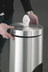 Wipe Dispensers Double Push Button Top