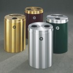 Glaro Dual Stream Recycling Receptacles