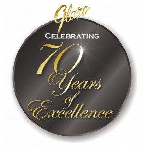 70 Year Glaro Logo