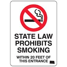 State Law Prohibits Smoking (North Dakota)