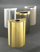 Value Waste Receptacles All Satin