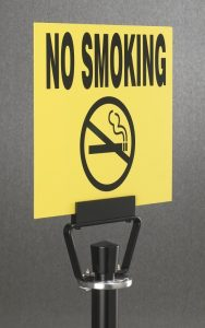 No Smoking Sign Panel