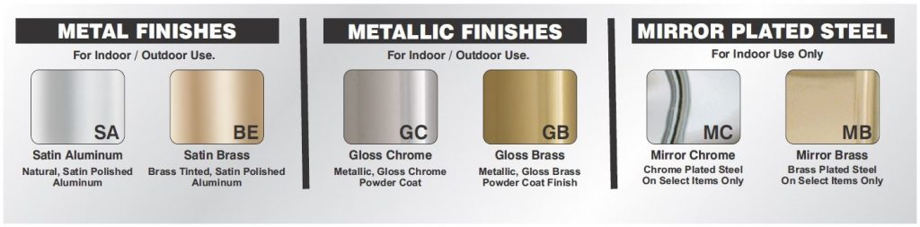 Glaro Metal Finishes