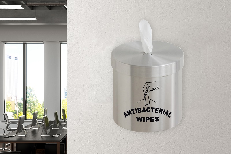 Glaro Mount Gym Wipes Dispensers