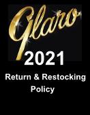 Glaro 2021 Return & Restocking Policy